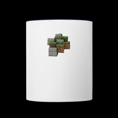 Grass Random - Contrast Coffee Mug