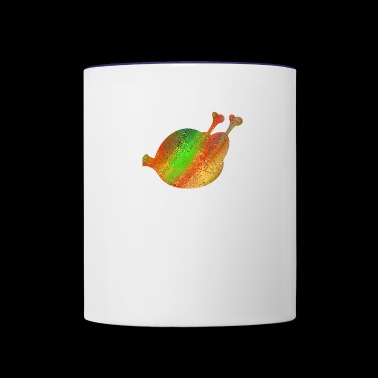 chicken - Contrast Coffee Mug