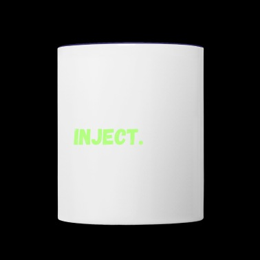 Eat. Sleep. Inject. Repeat. - Contrast Coffee Mug