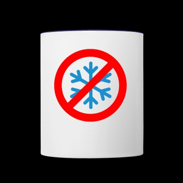 No Snowflakes - Contrast Coffee Mug
