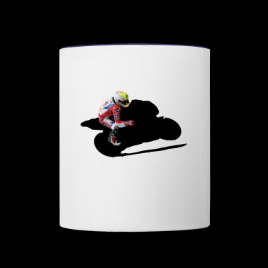 Motorcyclist Biker Superbike - Contrast Coffee Mug