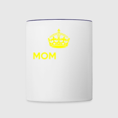 Momjesty Mom, her Majesty I Funny Mothers Day Gift - Contrast Coffee Mug