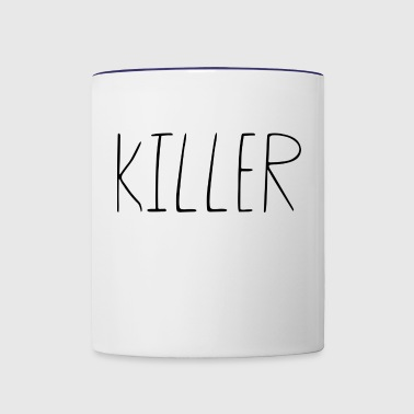 guy killer - Contrast Coffee Mug