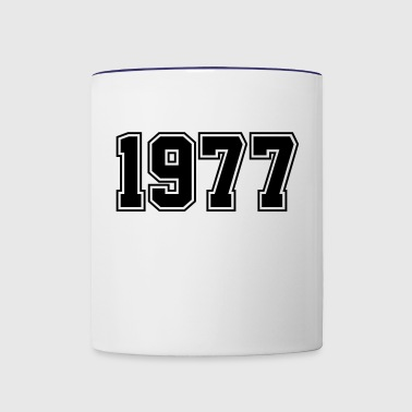 1977 | Year of Birth | Birth Year | Birthday - Contrast Coffee Mug