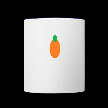 carrot - Contrast Coffee Mug