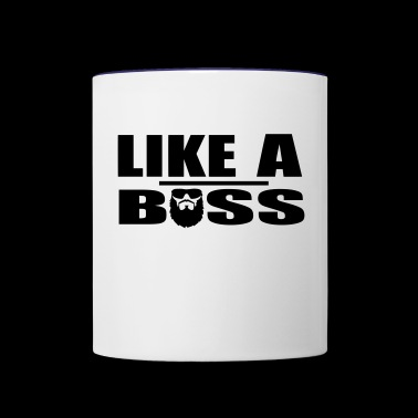 Like A Boss - Contrast Coffee Mug