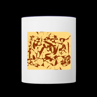 Brown objects - Contrast Coffee Mug