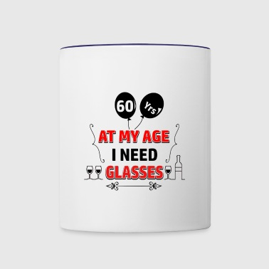 60 years and increasing in value - Contrast Coffee Mug