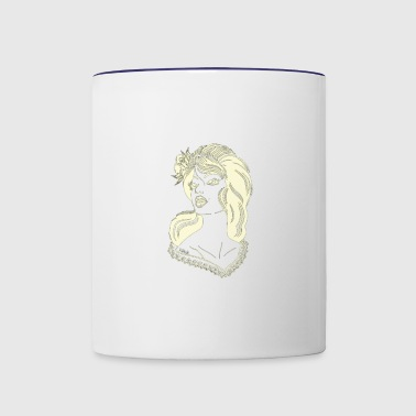 The Model - Contrast Coffee Mug