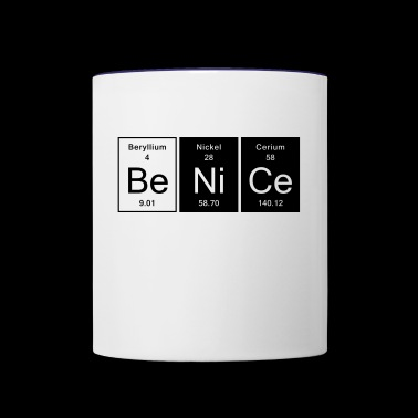 Be Nice - Nice - Contrast Coffee Mug