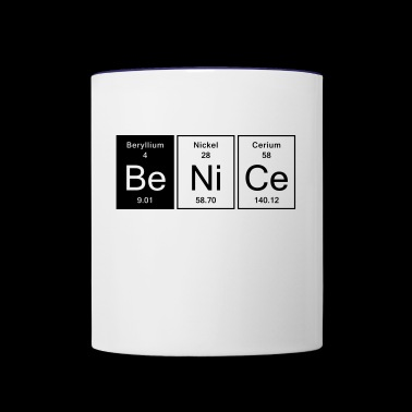 Nice - Be Nice - Contrast Coffee Mug
