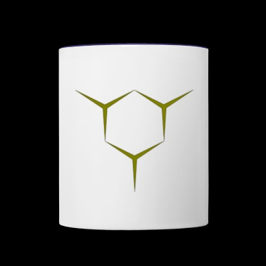 edges - Contrast Coffee Mug