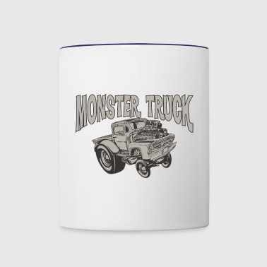 Monster Truck - Contrast Coffee Mug