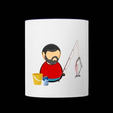 Fisherman - Contrast Coffee Mug