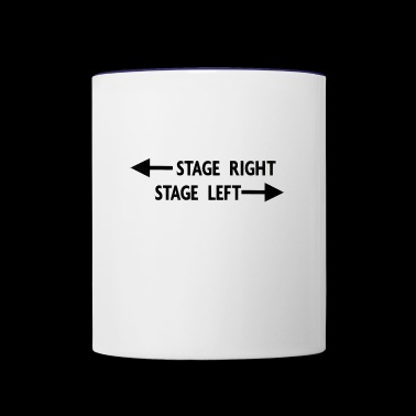 theatre stage - Contrast Coffee Mug