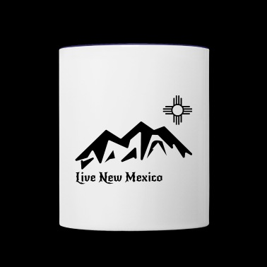 Live New Mexico logo - Contrast Coffee Mug