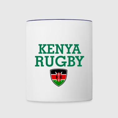 kenya design - Contrast Coffee Mug