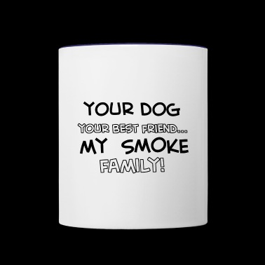 SMOKE - Contrast Coffee Mug