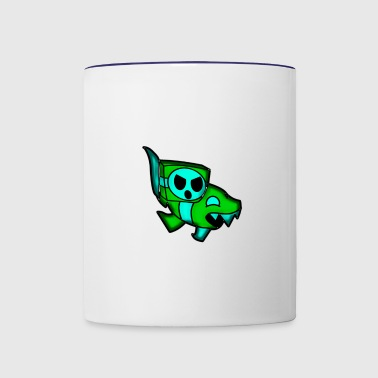 ship GD(geometry dash) - Contrast Coffee Mug