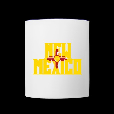 New Mexico - Contrast Coffee Mug