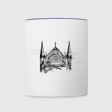 Church Window - Contrast Coffee Mug