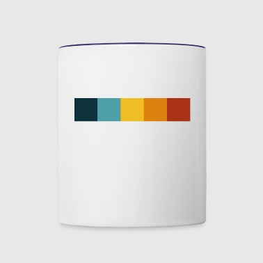 what´s your color? bubble_white - Contrast Coffee Mug