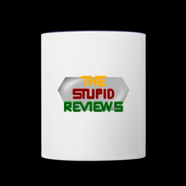 The Stupid Reviews Title - Contrast Coffee Mug