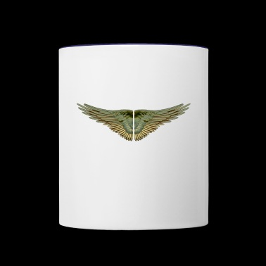wings - Contrast Coffee Mug