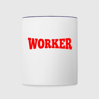 Worker - Contrast Coffee Mug