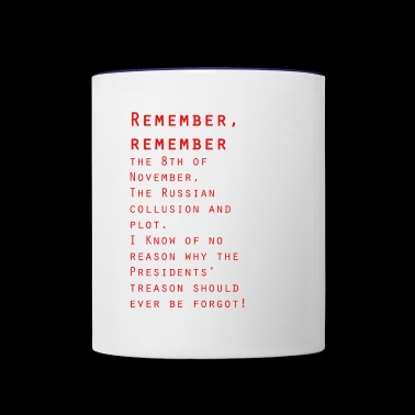 Remember Remember - Contrast Coffee Mug