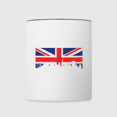 British Flag Bristol Skyline - Contrast Coffee Mug