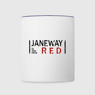 Janeway is the new RED - Contrast Coffee Mug