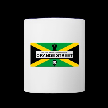 Orange Street JA - Contrast Coffee Mug