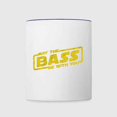 May The Bass Be With You Electro Party Techno EDM - Contrast Coffee Mug