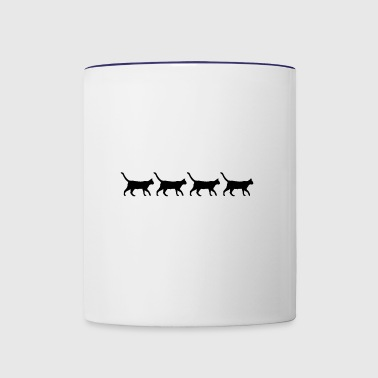 Abbey Road - Contrast Coffee Mug