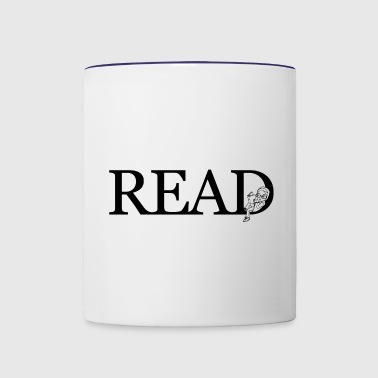 READ - Contrast Coffee Mug