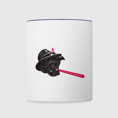 darth - Contrast Coffee Mug
