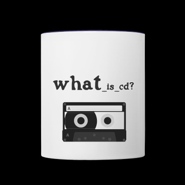 Tape - Contrast Coffee Mug