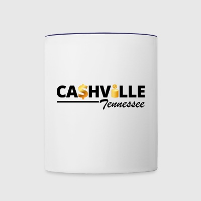 When Nashville was Re-named - Contrast Coffee Mug
