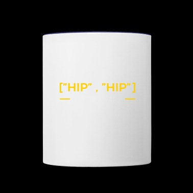 hip hip array - Contrast Coffee Mug