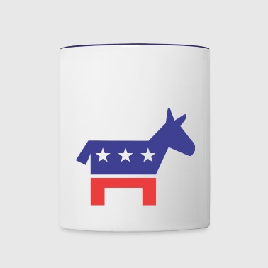 Democratic Party - Contrast Coffee Mug