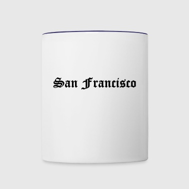 San Francisco - Contrast Coffee Mug