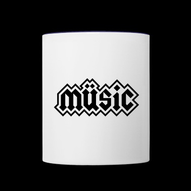 Heavy Metal Music - Contrast Coffee Mug