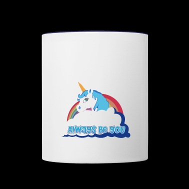 The Horse - Contrast Coffee Mug