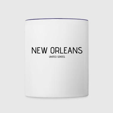 New Orleans - Contrast Coffee Mug