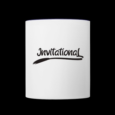 Invitational - Contrast Coffee Mug