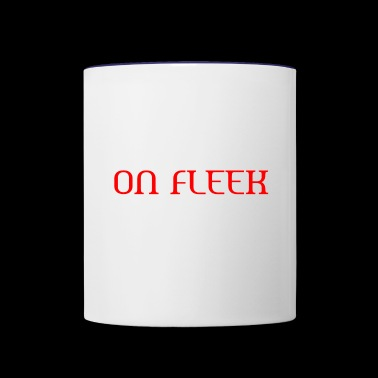 ON FLEEK - Contrast Coffee Mug