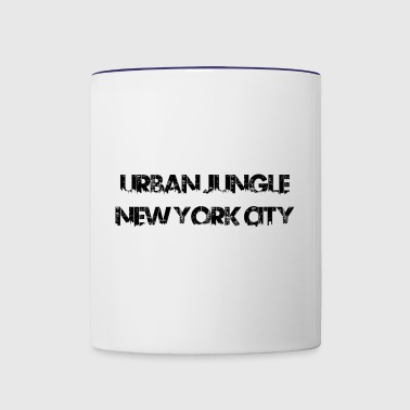 Urban Jungle - New York City - Contrast Coffee Mug