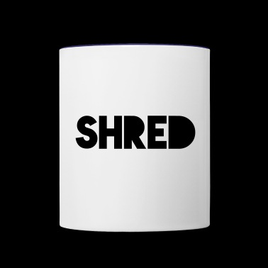 Shred - Contrast Coffee Mug