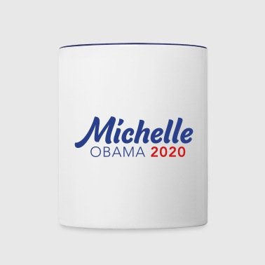 MICHELLE OBAMA for PRESIDENT 2020 - Contrast Coffee Mug
